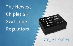 Инновация Chiplet SiP DC-DC преобразователей - Mornsun неизолированные импульсные стабилизаторы K78-R4
