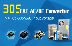AC/DC Converter 305RAC Family: 305 Input Reliable under All Conditions